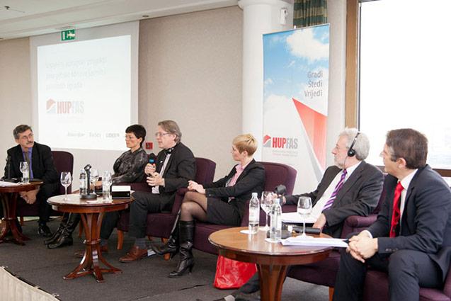 Panel diskusija Uspješni europski projekti energetske obnove javnih i privatnih zgrada, 2012.