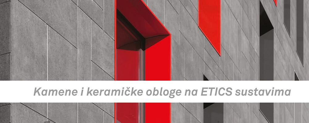 Kamene i keramičke obloge na ETICS sustavima