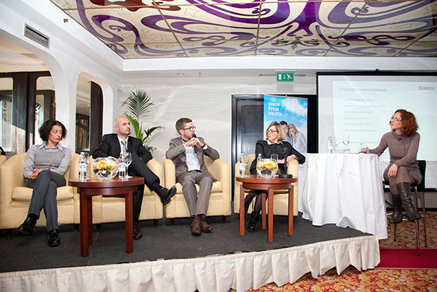 Panel diskusija Energetska obnova višestambenih zgrada 360°, 2013.